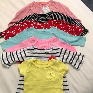 EUC baby long sleeve shirts